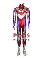 Ультрамен Тига Daigo серые волосы для косплея Puella костюм зентай для косплея mp002720