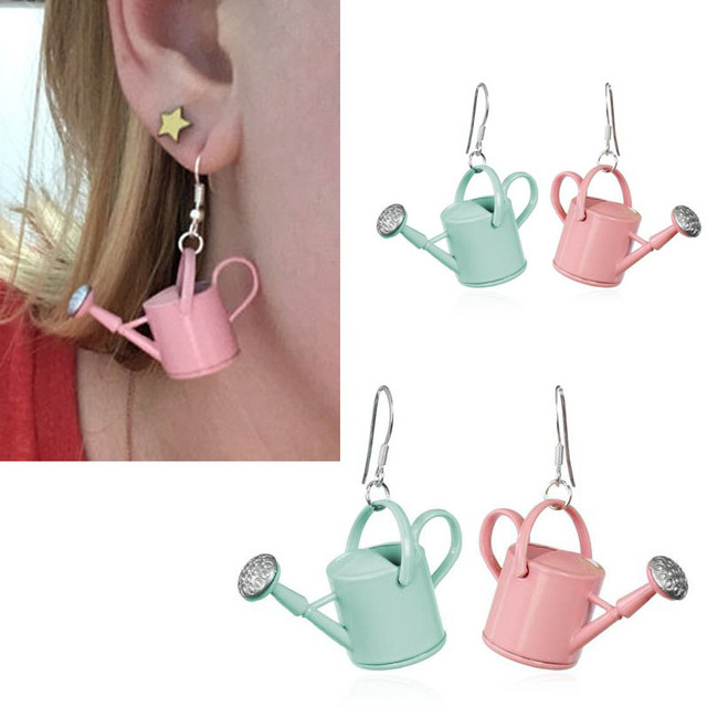 Watering Can Earrings 1