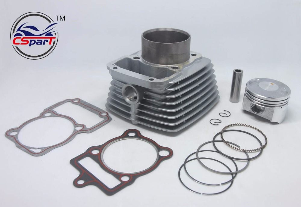 67mm Cylinder Piston Ring Gasket Kit Air 250CC Zongshen Shineray Bashan Taotao ATV Dirt Bike Pit Bike ATV Quad goofit cylinder kit for honda elite ch250 helix cn250 baja hammerhead roketa zongshen chinese water cooled 250cc atv dirt bike