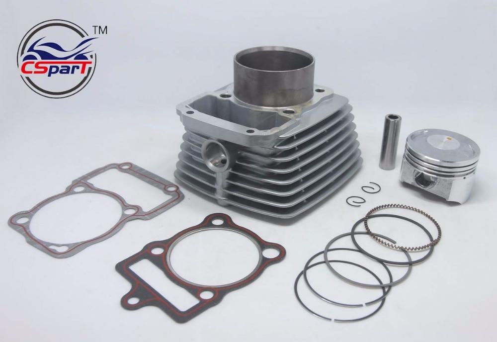 67mm Cylinder Piston Ring Gasket Kit Air 250CC Zongshen Shineray Bashan Taotao  ATV Dirt Bike Pit Bike ATV Quad
