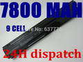 7800MaH battery for HP ProBook Probook 4330s 4435s 4446s 4331s 4436s 4530s  4440s 4535s 4431s 4441s 4540s 4545s