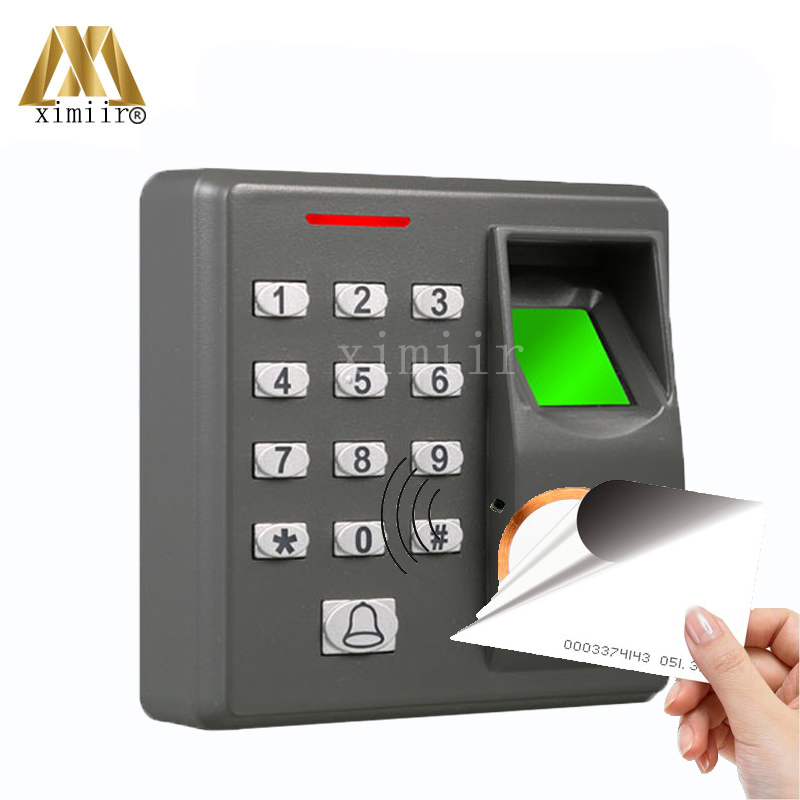 Cheap Standalone Fingerprint Access Control With Keypad F110 Door Access Control System With FRID Card Reader Fingerprint Reader good quality ip65 waterproof tcp ip standalone fingerprint access control with mf card reader linux system door access control