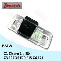 for BMW X1 Zinoro 1 e E84 X6 E71 X3 F25 X5 E70 F15 HD CCD Night Vision Reverse Parking Backup Camera Car Rear View Camera