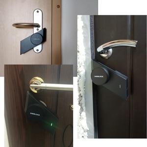 Image 3 - Sherlock S2 cerradura de puerta inteligente sin llave, para el hogar, funciona con la mecánica, Control por aplicación móvil