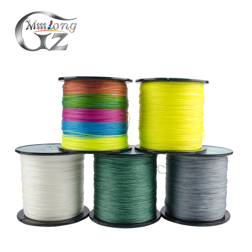 500M Super 4X PE Braided Fishing Line 10 60LB 5 Color Smooth Multifilament Fishing Line All Fishing Saltwater Freshwater Pesca Fishing Lines     - title=