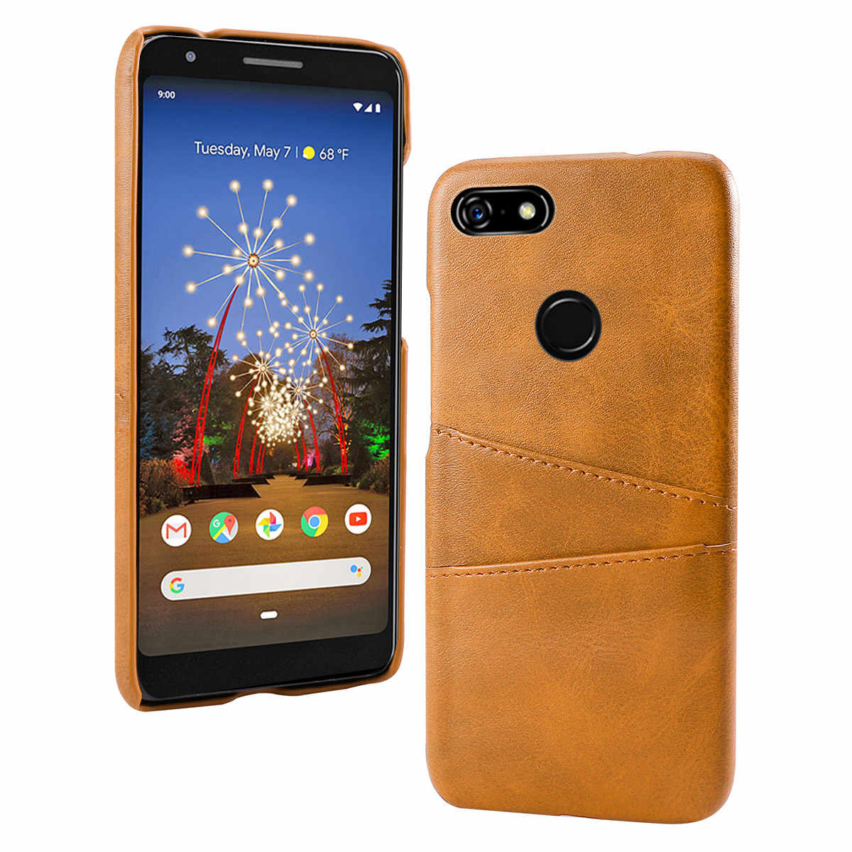 for Google Pixel 3A Case 3A XL Slim Hard PC Back Fabric Rugged
