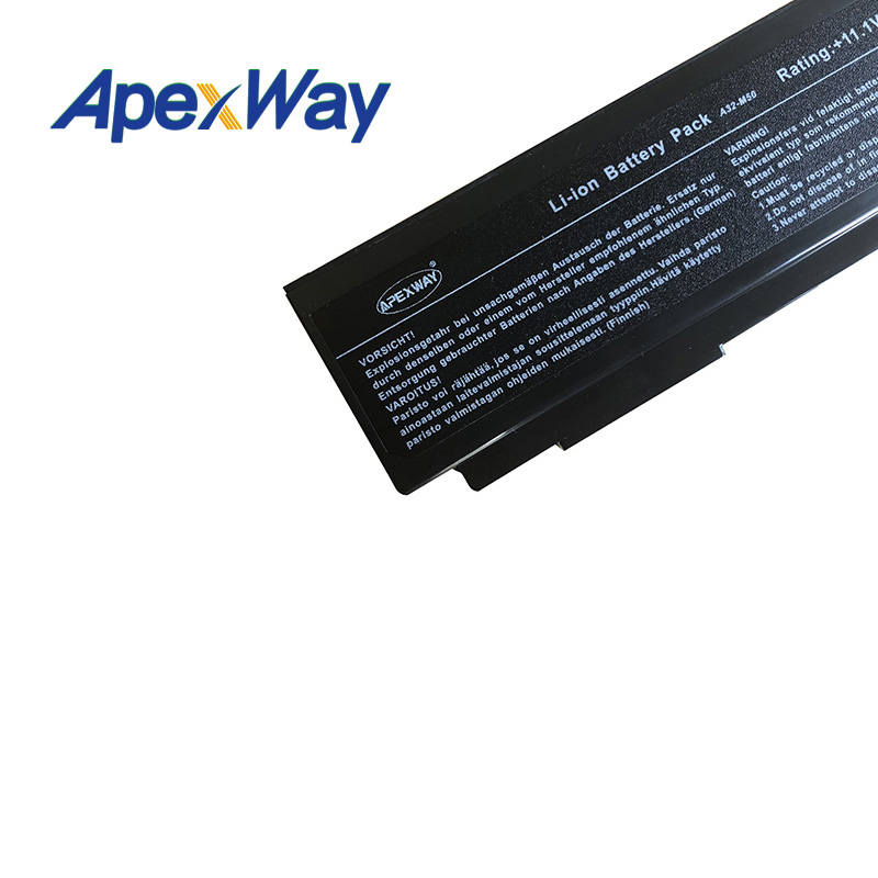 Image 5 - 11.1V 6cell Laptop Battery for Asus M50 M50s M50VM A32 M50 A32 N61 A33 M50 N61J N61Ja N61jq N61jv N61 N53 n61da-in Laptop Batteries from Computer & Office on