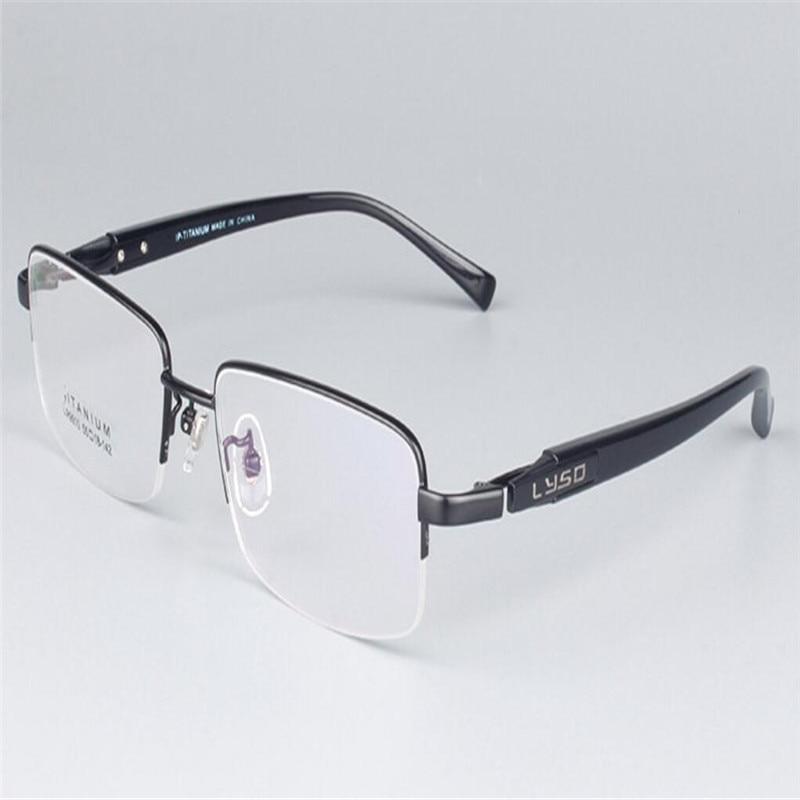 Industrious Mongoten Prescription Aspheric Lens Business Retro Men Half Rim Fashion Optical Frame Gold Silver Presbyopia Reading Eyeglasses Apparel Accessories Men's Glasses