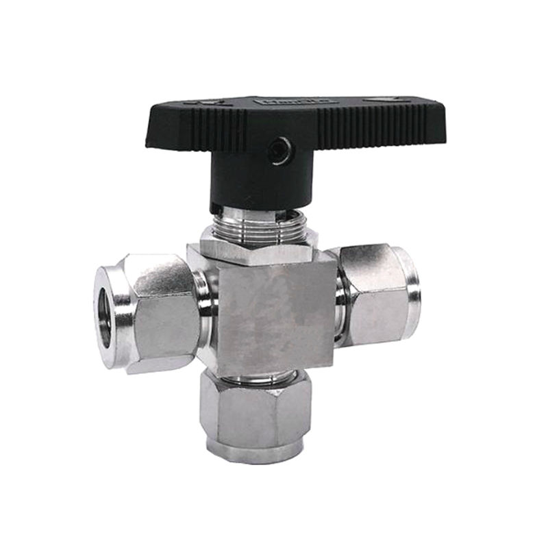 Stainless Steel 304 3/6/8/10/12/14/16 mm 1/8 1/4 3/8 1/2 OD Double Ferrule Instrument 3 Way Ball Valve T Port Pnael Mount ang 217 жикле в раме ангелы хранители дома 18х24