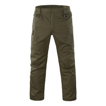 Tactical Cargo Pants Men Combat SWAT Army Military Pants Many Pockets Stretch Flexible Man Trousers Army Camouflage Emerson(China)