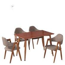 Нордический обеденный стул домашний простой стол стул сетка красный стул ресторан чай кофе магазин столы и стулья