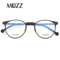 MUZZ 2018 Ultralight Prescription Goggles Lenses Myopia Optical Frame Titanium Frames Women Full Myopia Optical men Frames Ey