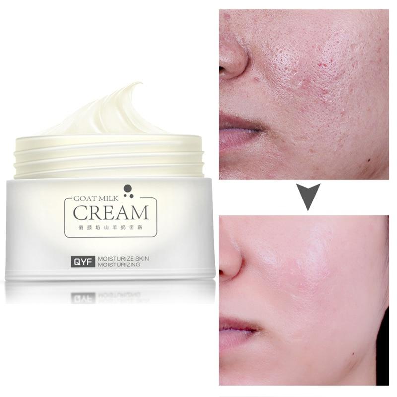 30g Goat Milk Moisturizing Face Cream Anti Wrinkle Anti