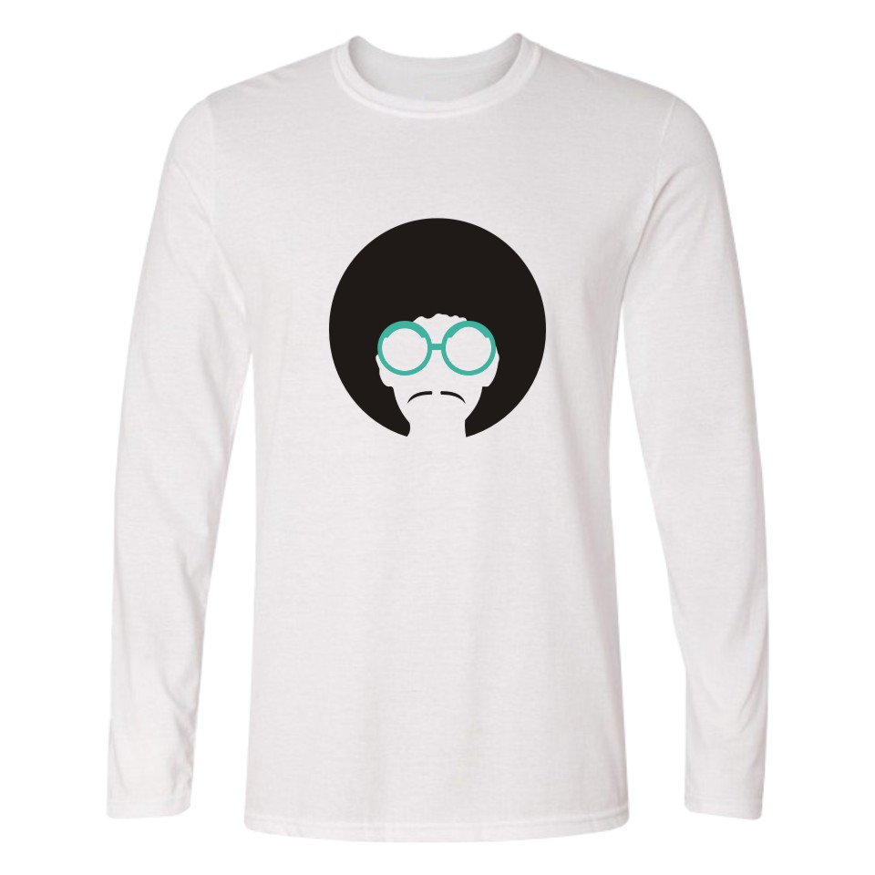 New Sale Prince Pringting Cotton Long Sleeve T-shirts Men And Plus Size Prince Logo Pullover Long T Shirt Men White Clothes