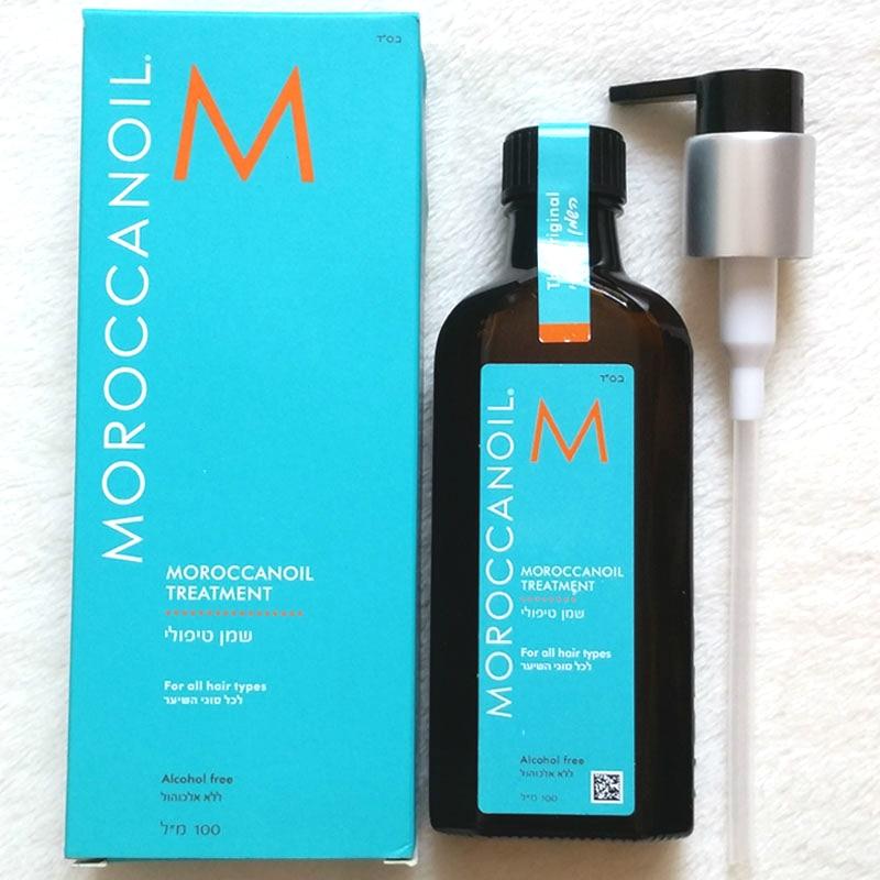 Moroccan oil Hair Treatment, 3.4 Ounce oil hair oil repair dry hair oil frizz essence 100ml morocco argan oil scalp for frizzy dry hair keratin repair treatment hair care keratin hair split ends conditioner dangello oil