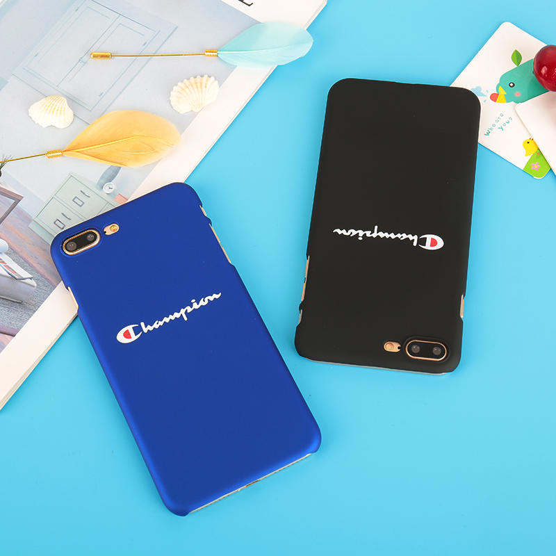 Tide brand champion Phone case for iPhone 7 Hard Plastic Coque for iPhone 8 7 6 6S Plus Ultra Thin Matte PC fundas for iphone X