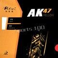 Настольный теннис Палио AK47 AK-47 AK 47 желтый матовый с бугорками пинг-понг Настольный теннис резиновый с губкой новый список 2,2 мм H42-44