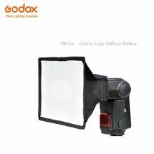 Kit Godox Sb1520 15×20 cm Softbox Difusor de Luz para Câmera Flash Speedlite v860ii tt350s tt600s tt520ii tt685s tt350f