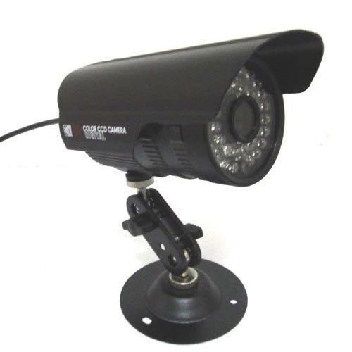 HD 1/3 1000TVL CMOS Color IR CCTV Security Camera Outdoor Video Waterproof D/N hk1080ir2 waterproof 1080p hd 1 3 cmos 1 0mp cctv camera w 2 ir led silver