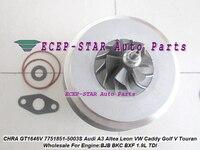 Turbo CHRA cartucho Core CT1646V 751851-5003 S 751851  751851-0001  751851-0002 para AUDI A3 Altea para VW Passat BJB BXE 1.9L TDI