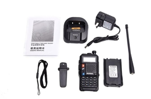 Image 5 - Baofeng UVT2 R9 walkie talkie dual band 136 174mhz 400 520mhz 2800mAh battery 128CH USB directly charger two way radio
