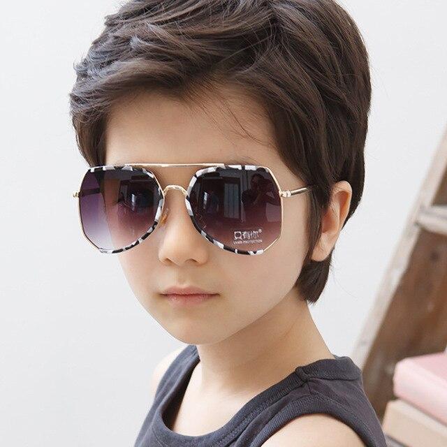807c52958 SOLO TU Mais Recente Moda Bebê Crianças Meninos Meninas Encantadoras Óculos  De Sol UV400-Proof
