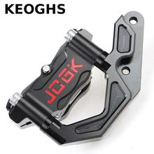 Big discount KEOGHS Motorcycle Brake Caliper With Cnc Adapter Bracket For Yamaha Cygnus-x For Original Front Shock 245mm 260mm Brake Disc