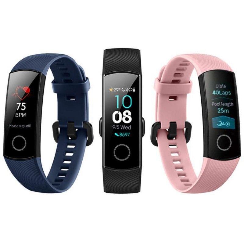 D & L pour Huawei honor 4 Bracelet intelligent 50 M Tracker de Fitness étanche écran tactile moniteur de fréquence cardiaque affichage Bracelet intelligent