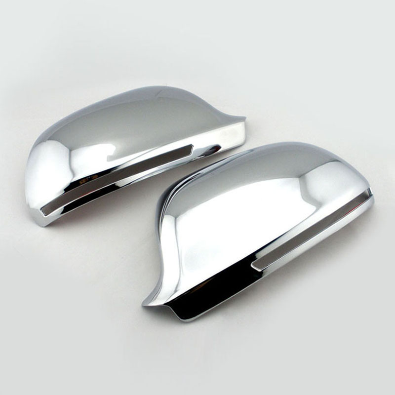 Pour Audi A3 A4 A6 S3 S4 S6 Chrome Wing Mirror Cover Caps