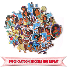 39pcs Alamagic Creative Cute badges DIY decorative stickers Cartoon style for wall notebook phone scrapbooking album E0602