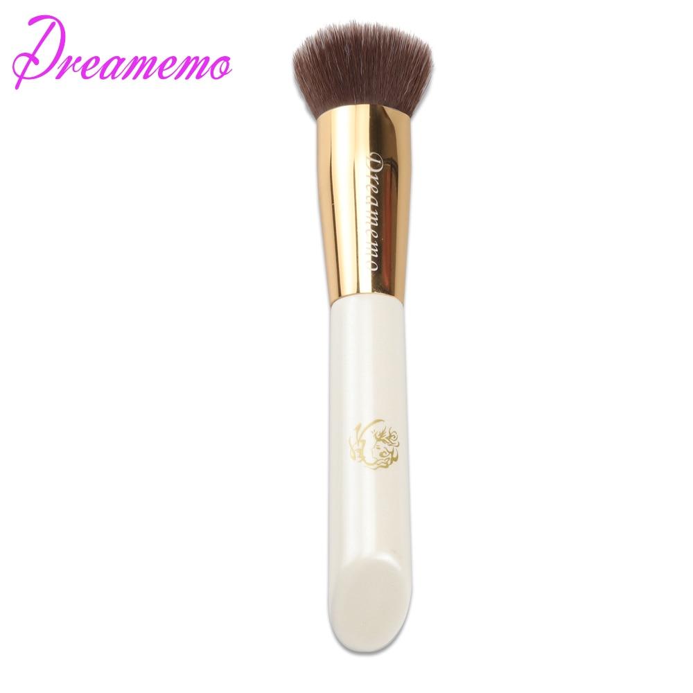 Dreamemo Professional Anti Bacterial Liquid Foundation Brush Sun Cream/BB Cream/Foundation Makeup Brush Cosmetic Tool 1pc finding color professional wooden cosmetic makeup bevel foundation brush brown