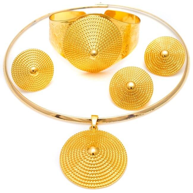 Здесь продается  Free Shipping Yulaili Pure Gold Color Fashion Jewelry Sets Ethiopia Jewelry Sets Lead And Nickel Free Fashion Jewelry Set  Ювелирные изделия и часы