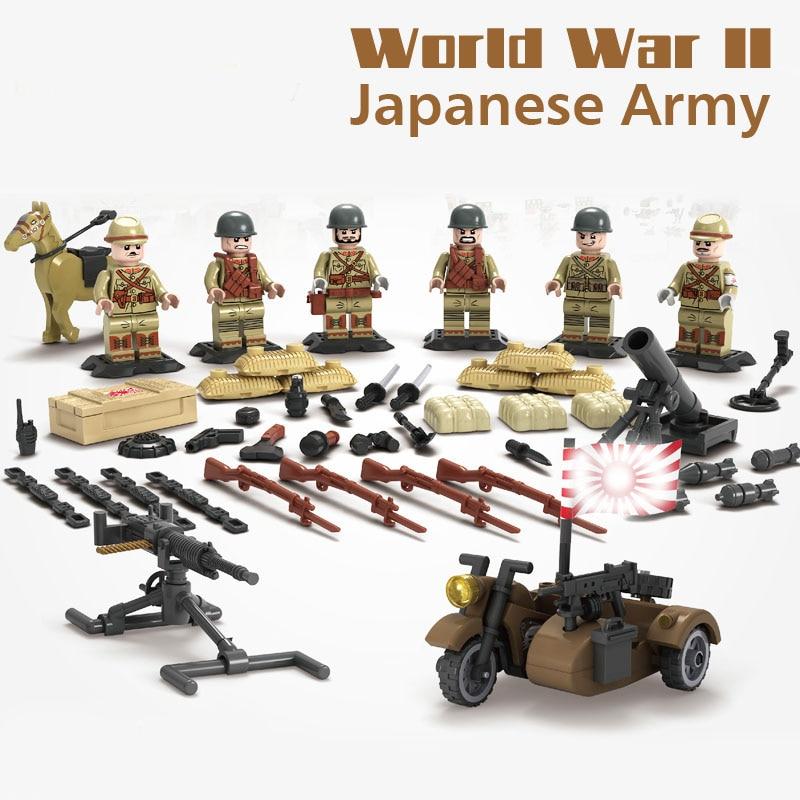Kitoz WW2 Sino Japanese War Japanese Army Mini Soldier Doll