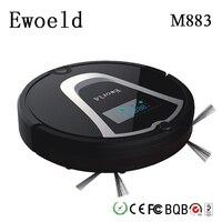Eworld Mop Robot Vacuum Cleaner For Home HEPA Filter Dust Bucket Sensor Remote Control Self Charge ROBOT ASPIRADOR Clean Floor