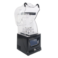 Itop Commercial Powerful Touchpad Blender Ice Crushers Smoothies Ice Maker 1.5l Juicer High Speed Food Mixers White/Black