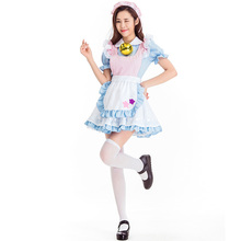 Alice dreamland fairy maid costume cosplay princess dress girlfriends COS clothing costumes bell Hallween