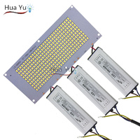 5set 150W Led Pcb Led Floodlights Lighting Lamp Plate With Driver For Outdoor Spotlights Flood Lamp