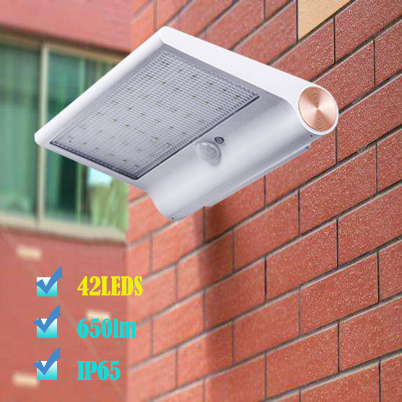 NEW LED Solar light Perfect quality LED Solar Outdoor lighting Good convertion solar panel High bright led solar Wall light