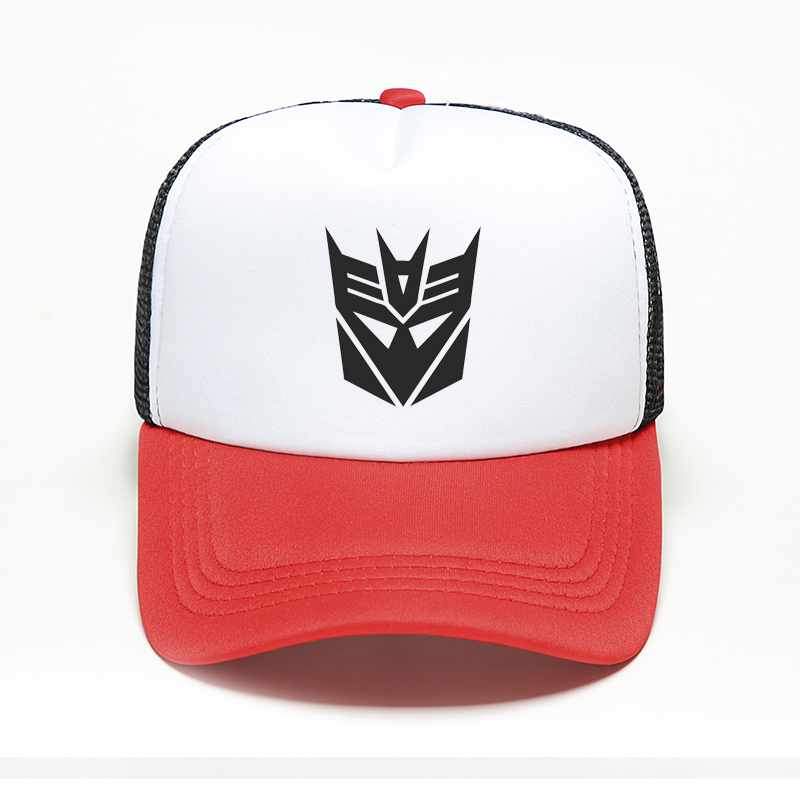 New Print Transformers Autobots Decepticons   Baseball     Cap   Robot Optimus Prime Hat Snapback Trucker Dad Hat Women Men Hiphop   Cap