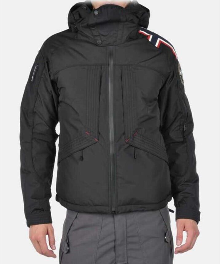 Mens winter napapijri official website synchronization 90%down warm waterproof windproof Detachable hoody ski parka jacket sale - PMA fashion store