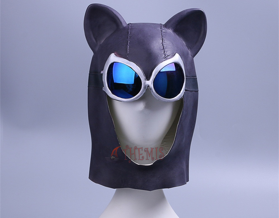 Catwoman Goggles and Mask Adult Womens Costume Fancy Dress