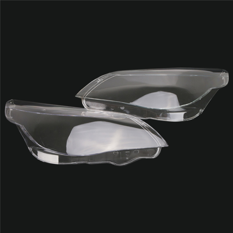 Left / Right Headlight Shell Lamp Lens Plastic Cover For BMW 5 Serice E60 E61 520i 520d 523i 525i 530xi 535d 540i 545i 550i for bmw e60 e61 520i 525i 530i 540i 545i 550i m5 2003 2007 halogen headlight ultra bright illumination cob led angel eyes kit
