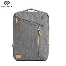 Gearmax Bagpack Männer Frauen Laptop Rucksack 15 15,6 Laptop Rucksack Grau Blau Schule Rucksack Nylon Notebook Tasche Business Casual