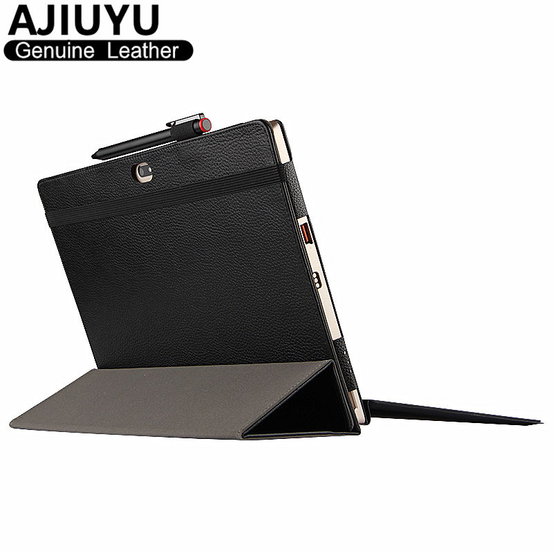 Genuine Leather For Lenovo Ideapad Miix 700 Case MIIX 4 Pro Protective Smart Cover Tablet miix 710 Miix4 Protector 12