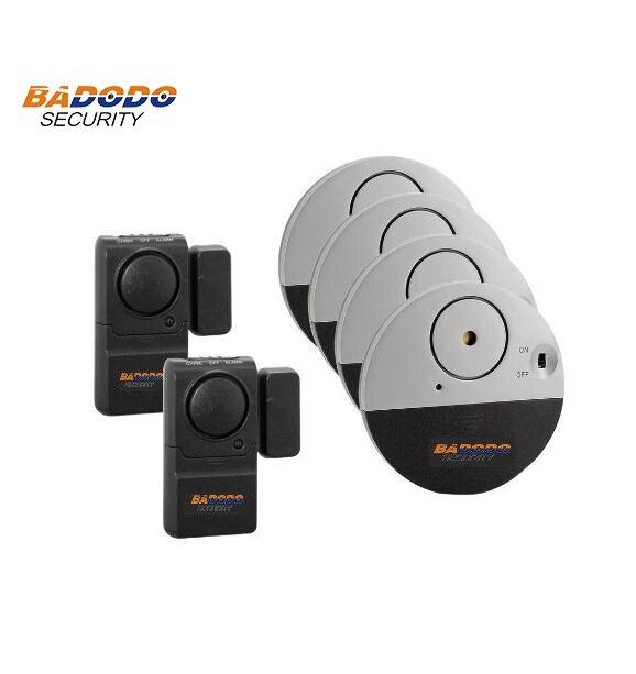 Doberman Ultra Slim Window Alarm and Mini Entry Defender w Chime kit for smart home