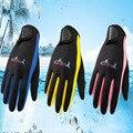 2018 зимние неопреновые женские и мужские перчатки для плавания и дайвинга 1,5 мм с волшебной палкой, противоскользящие теплые перчатки для пл...