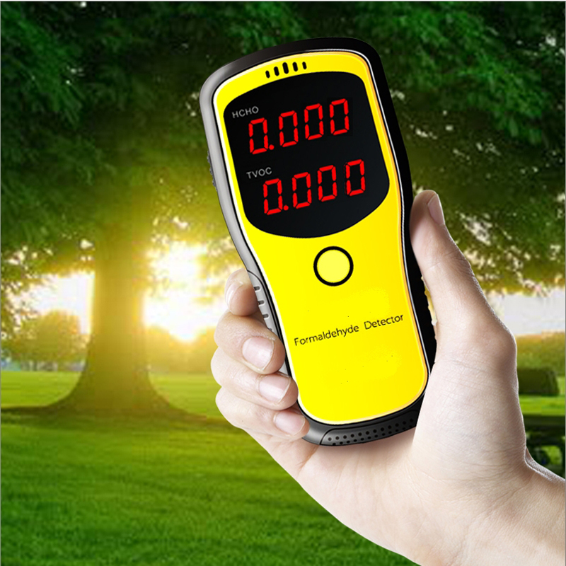 Portable Air Quality Detector Formaldehyde HCHO & TVOC Tester Instrument Meter Air Analyzers free shipping jsm131s indoor air quality monitor handheld ch2o hcho tester
