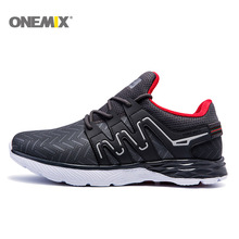 Onemix Running Shoes For Men Sport Shoes Athletic Sneakers Zapatillas Outdoor  Breathable Original Shoes For Hombre 1199 By DHL