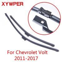XYWPER Wischer Klingen für Chevrolet Volt 2011 2012 2013 2014 2015 2016 2017 Auto Zubehör Weiche Gummi Scheibenwischer