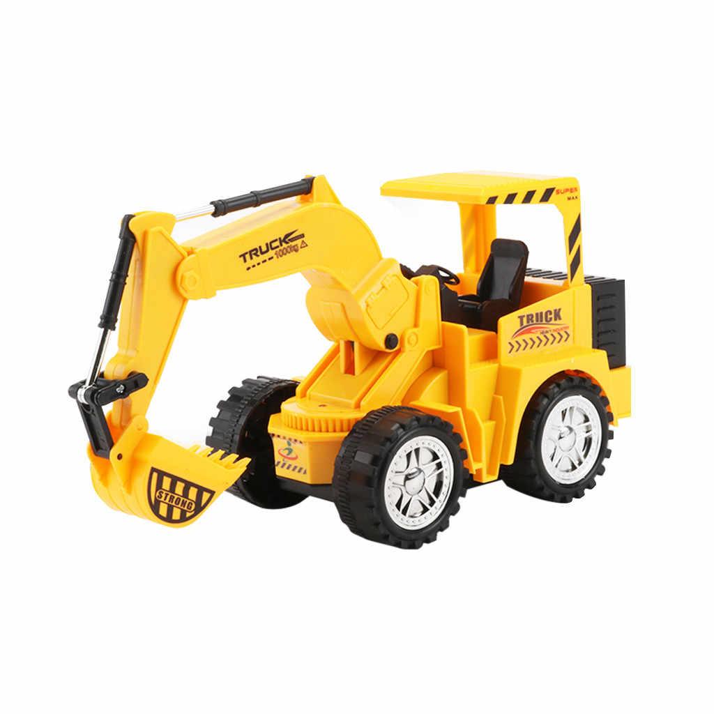 RC אלחוטי משליך משאית צעצוע שלט רחוק חשמלי הנדסת משאית כלי רכב חופר בניית משאית צעצוע ילדי משחק